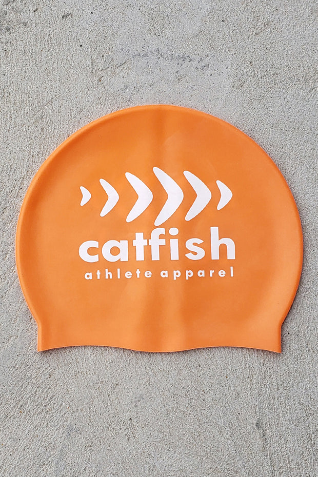 Swim Cap - Orange