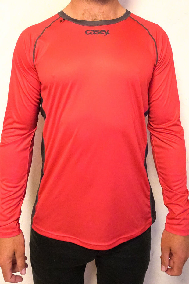 Red Paddle Tee LS