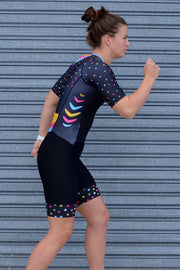 Shoot For The Stars Sleeve Tri Suit