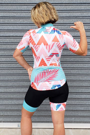 Summer Chevron Cycle Bib