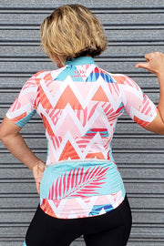 Summer Chevron Cycle Jersey