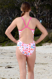 Summer Chevron V-Back