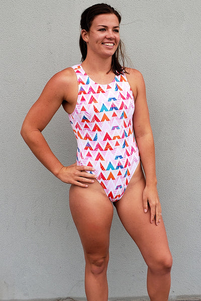 Summer Chevron Waterpolo Catsuit