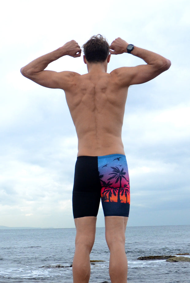 Boy's Sunset Surfs Jammers