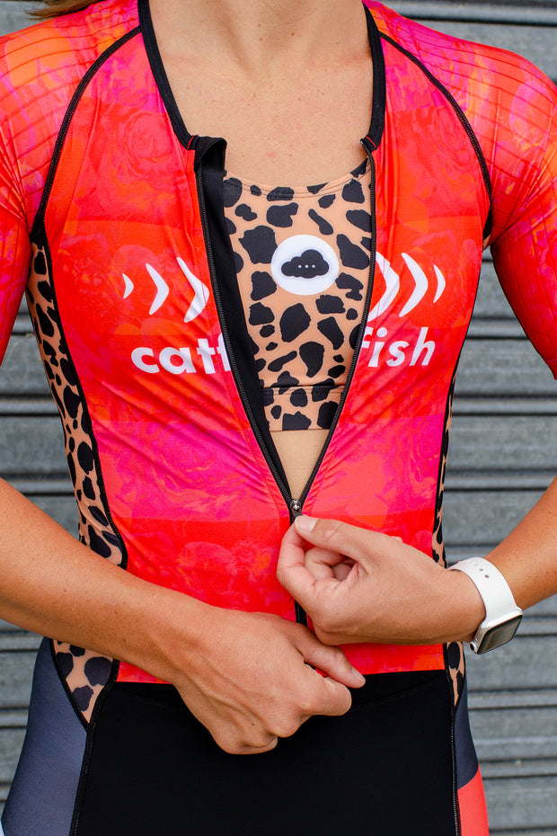 Renee X Catfish Aero Sleeve Tri Suit