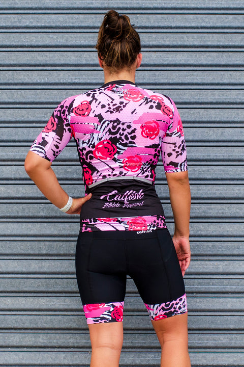 Wild Roses Superleggera Cycle Jersey