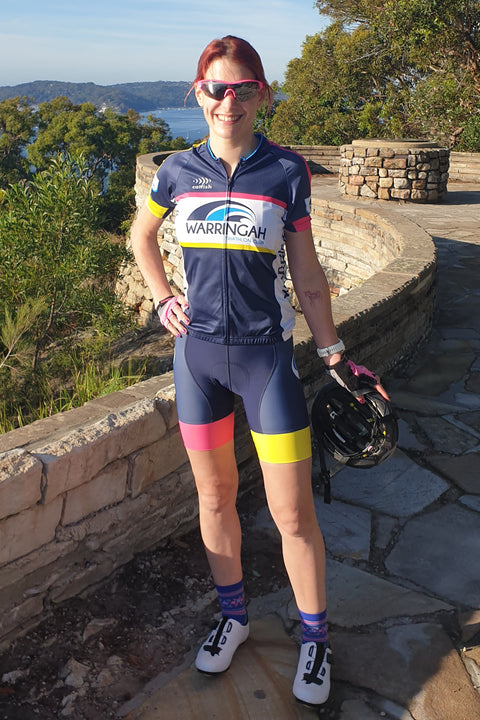 Women's WTC Cycle Jersey - Race Kit