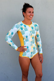 Girl's Love Pineapples Surf Suit