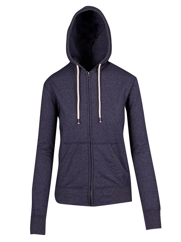 Greatness Heather Zipp Hoodie - Women's/Junior