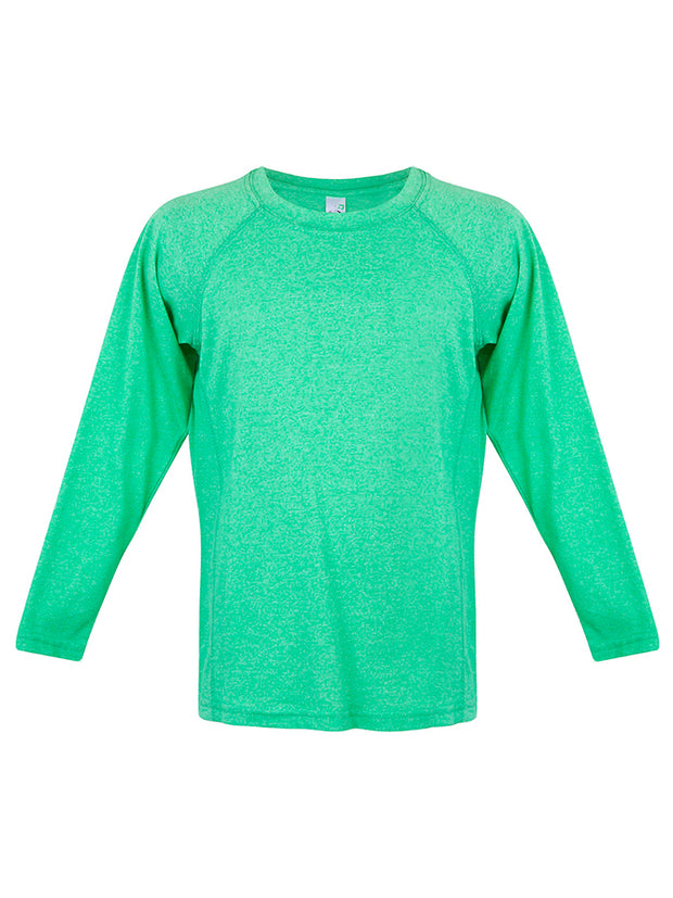 Greatness Heather Long Sleeve Tee - Kid's