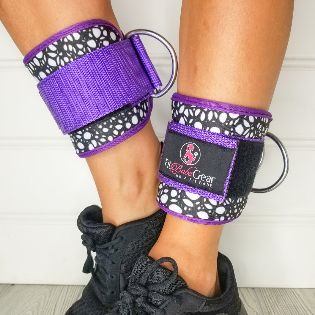 Purple Tangle - Ankle Straps
