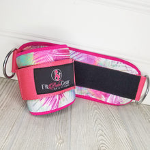 Pink Tropics - Ankle Straps