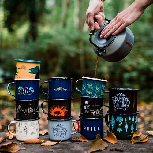 What is Enamel Camping Mug, where to get them, and why are they needed?