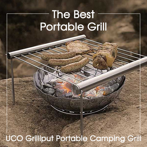 The Best Portable Grill - UCO Grilliput Portable Camping Grill