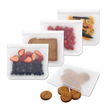 Load image into Gallery viewer, Reusable Beeswax Food Wraps and Silicone Food Storage Containers Set