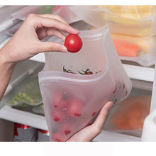 Load image into Gallery viewer, Silicone Food Storage Containers
