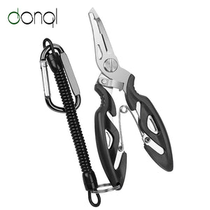 Multi-functional Fishing Pliers and Scissors, Use as Line Cutter, Hook Remover, Fishing Clamp Accessory