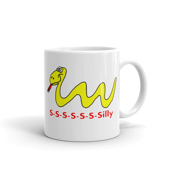 Mr. Shazz Silly Snake Designs are on our T-shirts, coffee mugs, and infant bodysuits