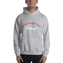 Aged to Perfection Vintage Unisex Hooded Sweatshirt
