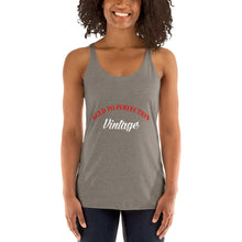 Aged to Perfection Vintage Women's Racerback Tank Top