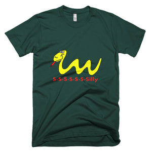 Our Silly Snake Short-Sleeve T-Shirt for Men who are Young at Heart Many colors and Sizes - Mr. Shazz