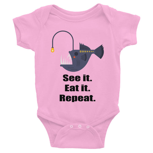See it Eat it Repeat Infant Bodysuit