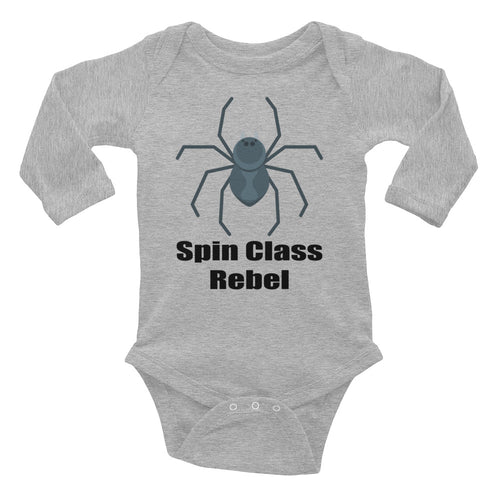 Spin Class Rebel Infant Long Sleeve Bodysuit