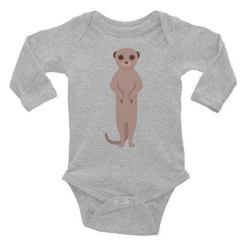 Ferret Infant Long Sleeve Bodysuit