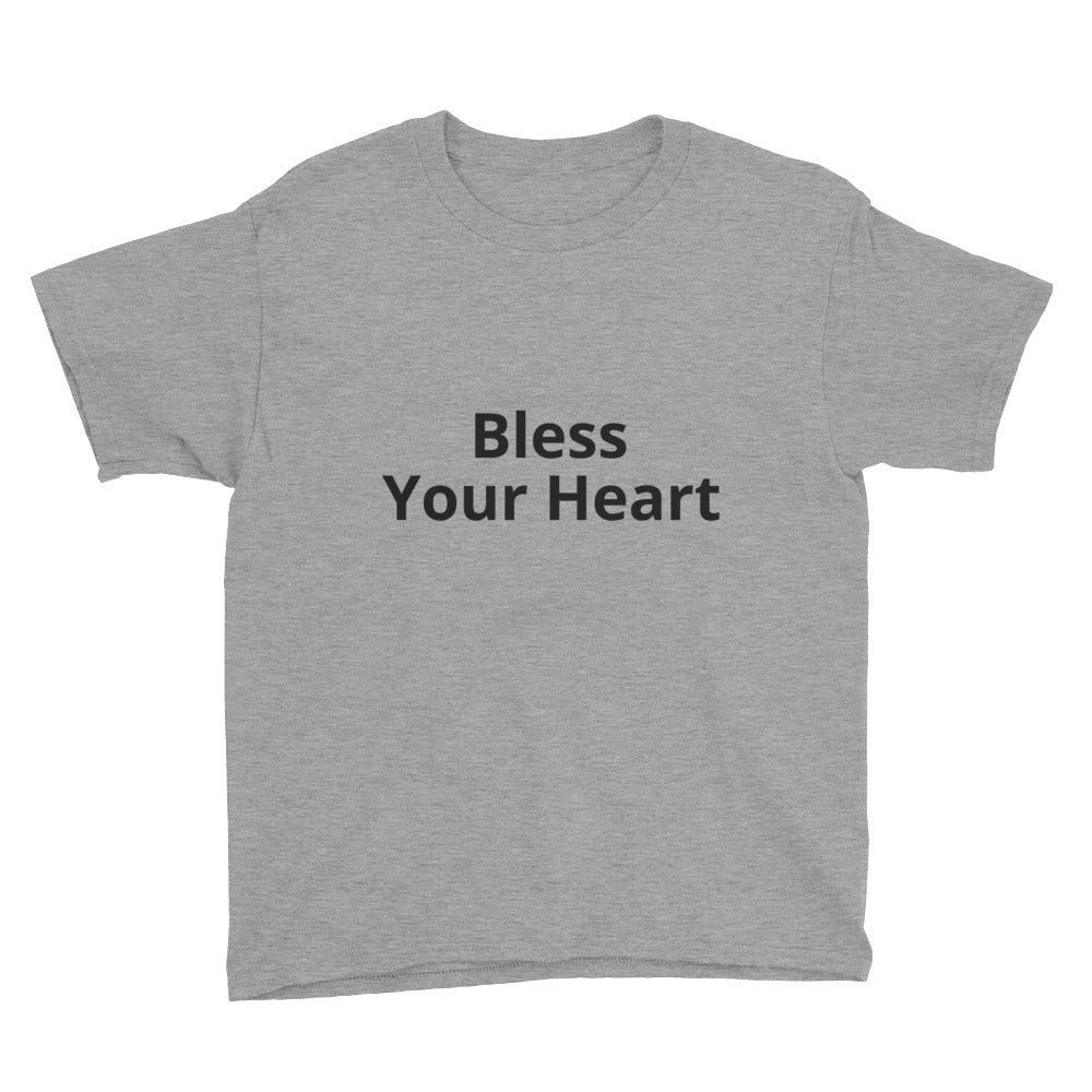 Bless your Heart Men's T-shirt.  Also styles, colors, and sizes for men, women, children, and infants.  Only at MrShazz.com