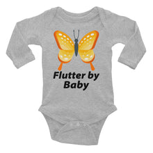 Flutter By Baby Infant Long Sleeve Bodysuit Very Cute
