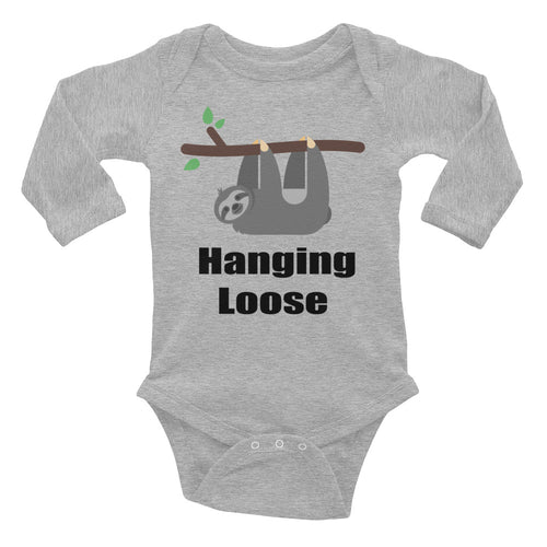 Hanging Loose Infant Long Sleeve Bodysuit