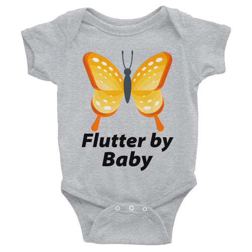 Flutter By Baby Butterfly Cute Infant Bodysuit