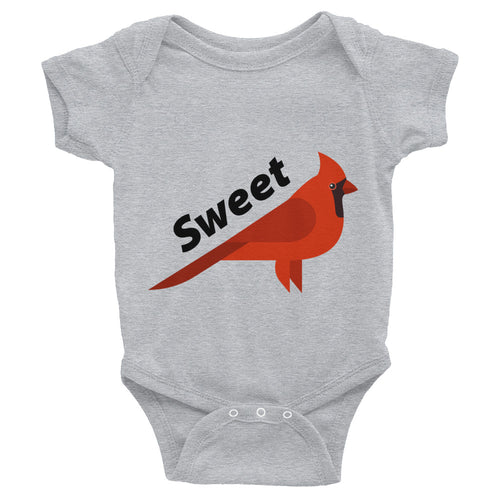 Sweet Cardinal Infant Bodysuit