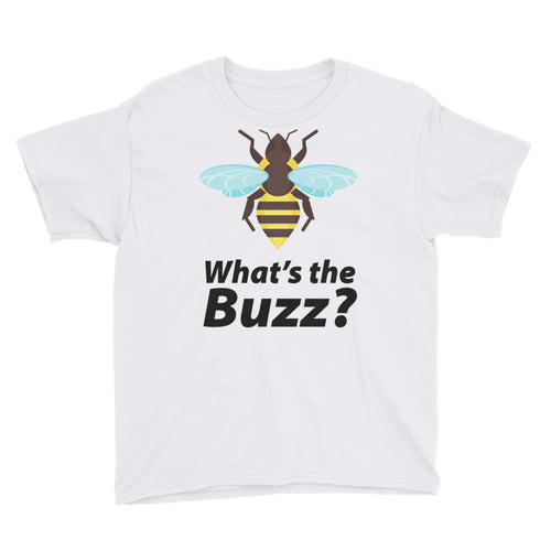 What's the Buzz Bee Youth Short Sleeve T-Shirt