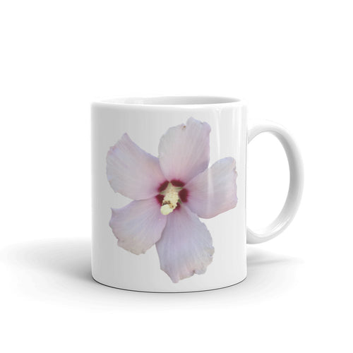 Rose of Sharon Flower Mug - Mr. Shazz