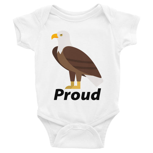 Proud Eagle Infant Bodysuit - Mr. Shazz