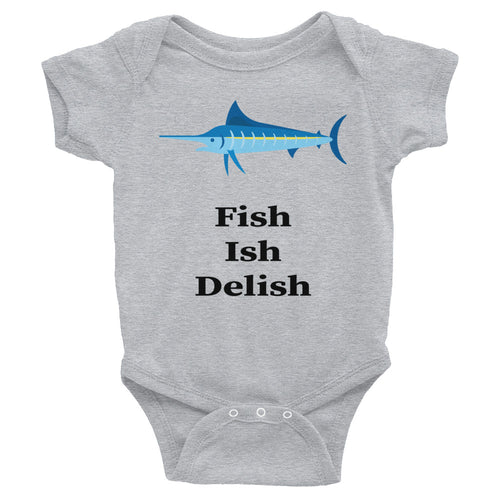 Fish Ish Delish Infant Bodysuit