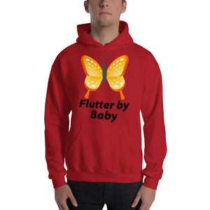 Flutter By Butterfly Hooded Sweatshirt Unisex Very Cute Other Styles Available