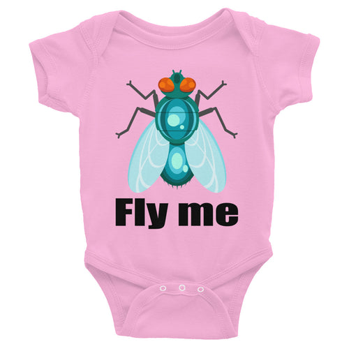 Cute Fly Me Infant Bodysuit