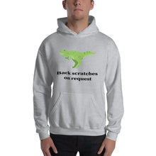 Back Scratches on Request Unisex Hooded Sweatshirt - Mr. Shazz