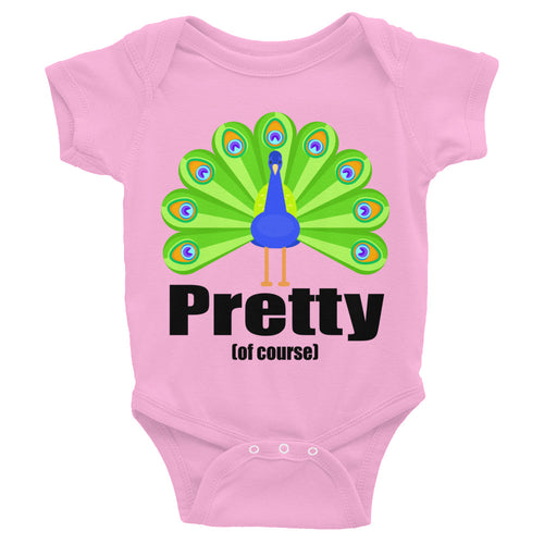 Peacock Infant Bodysuit - Mr. Shazz