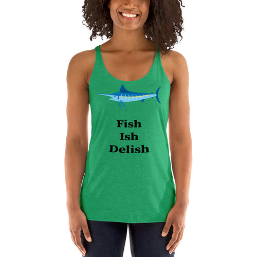 Fish Ish Delish Ladies' Tank Top
