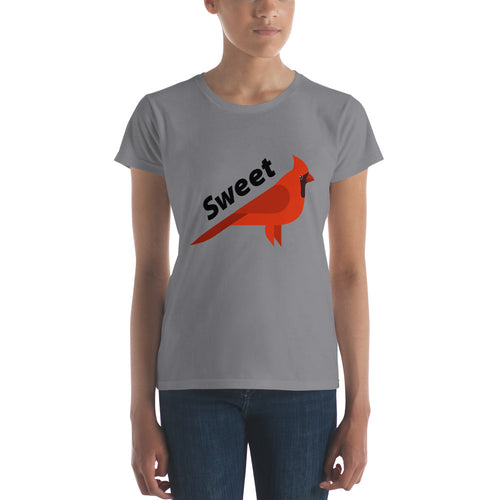 Sweet Cardinal Women's short sleeve t-shirt