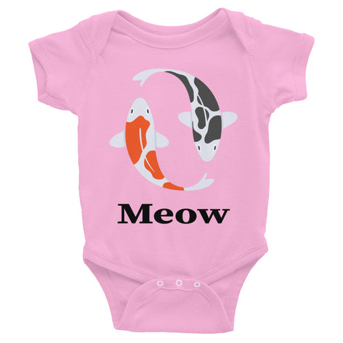 Meow Fish Infant Bodysuit