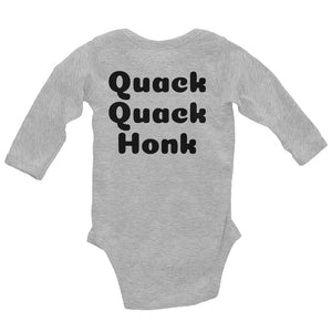 Duck Duck Goose Infant Long Sleeve Bodysuit - Mr. Shazz