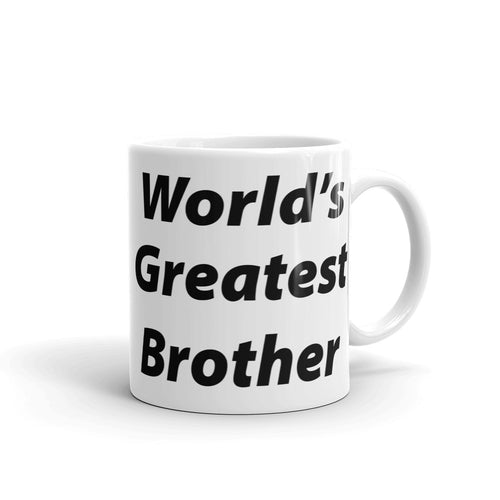 World's Greatest Brother Mug