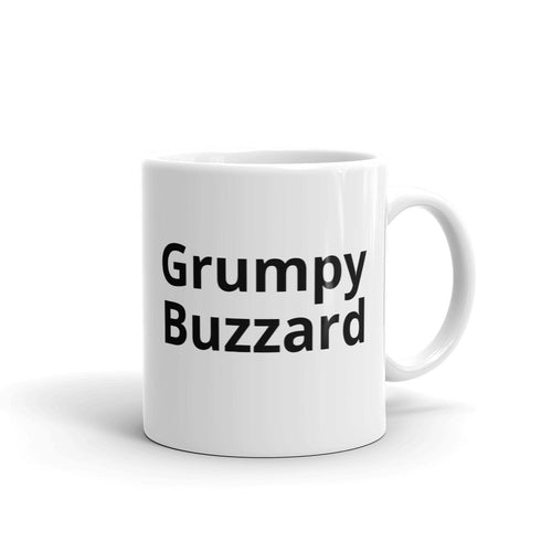 Grumpy Buzzard Coffee Mug with Turkey Buzzard - Mr. Shazz