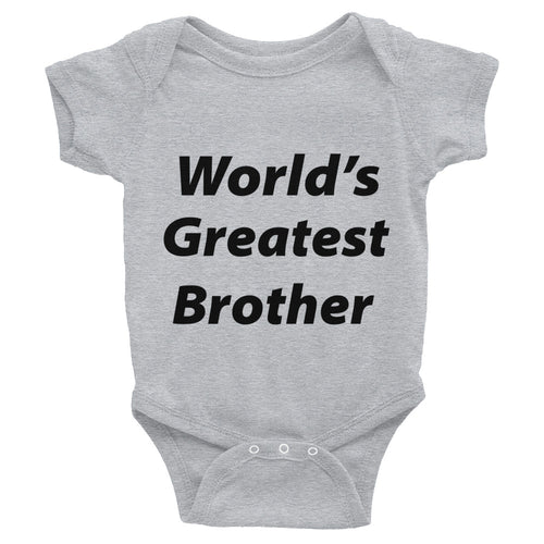 World's Greatest Brother Infant Bodysuit
