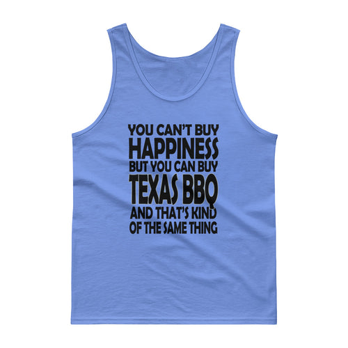 You Can't Buy Happiness, but You Can Buy Texas BBQ Men's Tank Top Guy's