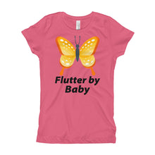 Flutter By Baby Butterfly Cute Girl's T-Shirt